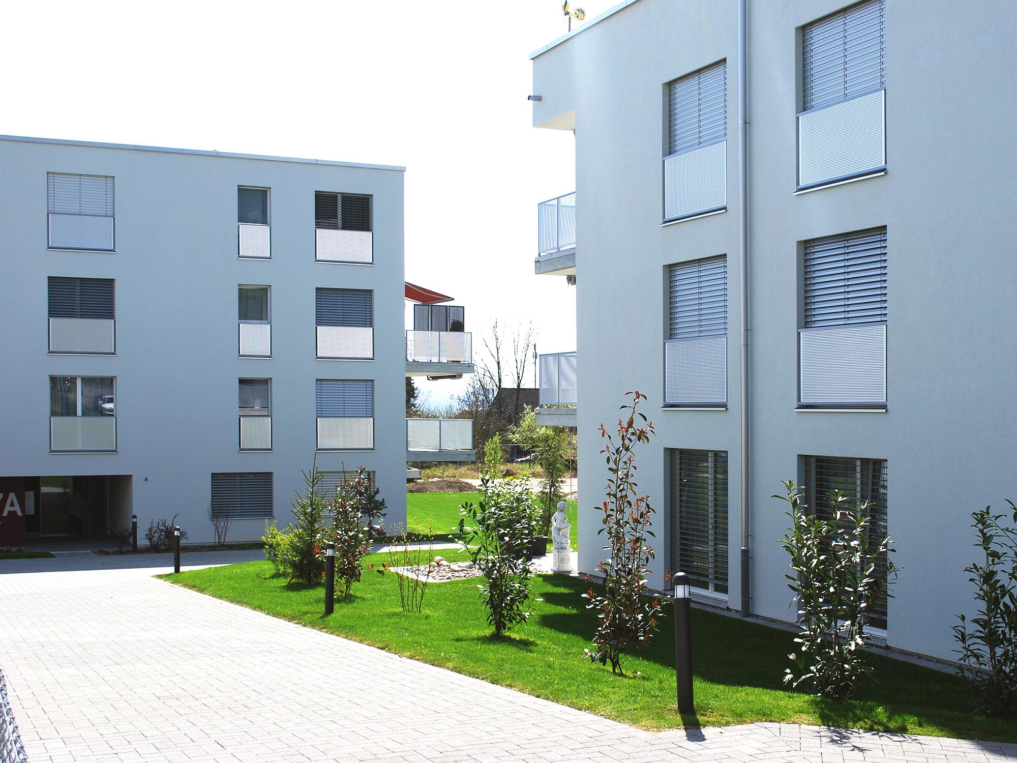 Überbauung Tannlimatt, Neubau 5 MFH   FREPA AG   Malerei Gipserei ...